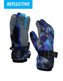 BOYS 4-16 PRINTED SKI GLOVE