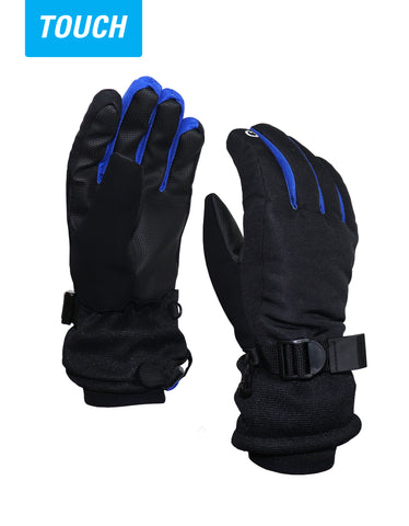 BOYS 4-16 TOUCH TECH SKI GLOVE
