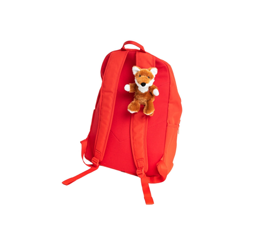 GoPals Fox Clips on Backpacks