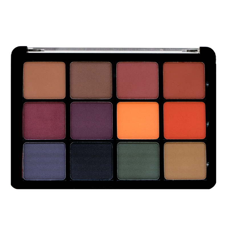 Viseart Eyeshadow Palette 04 Dark Mattes