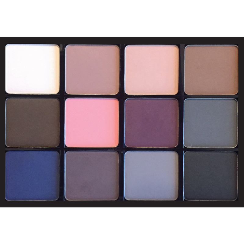 Viseart Eyeshadow Palette 07 Cool Matte