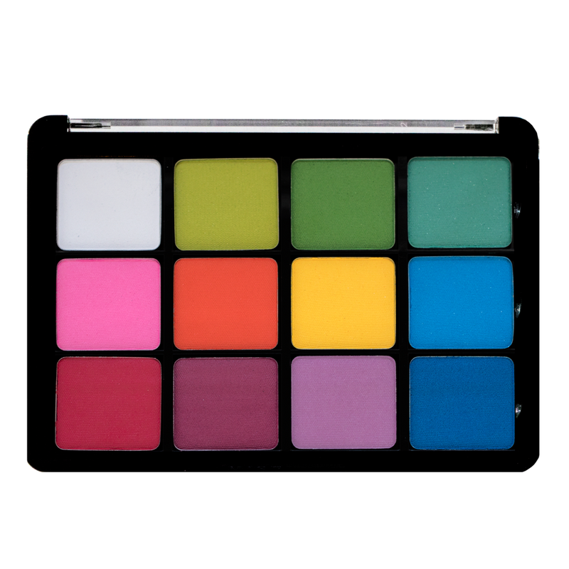 Viseart Eyeshadow Palette 08 Editorial Brights