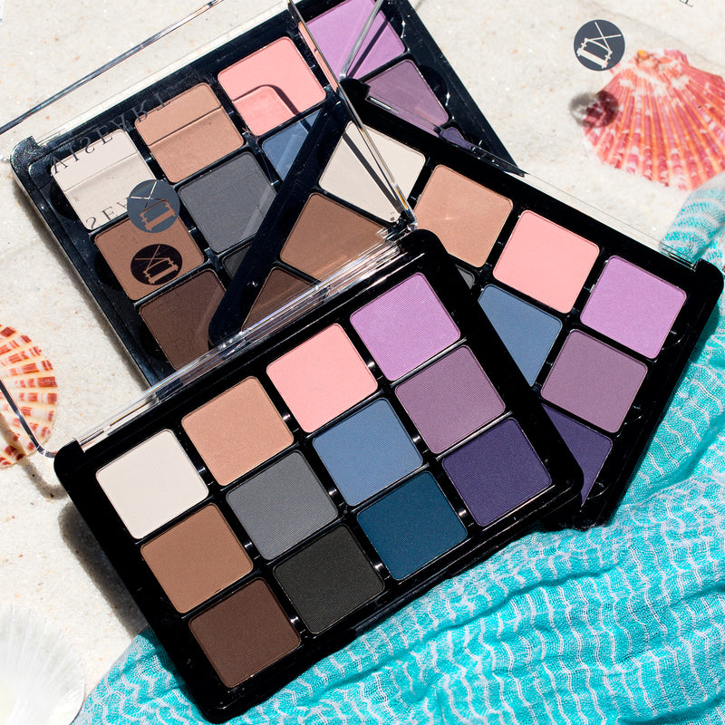 Viseart Eyeshadow Palette 11 Cool Mattes 2