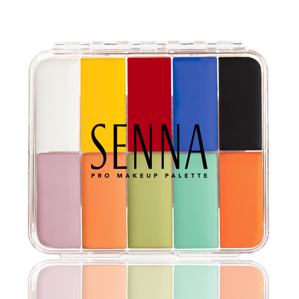 Senna Slipcover Cream to Powder Palette Primary & Pastel