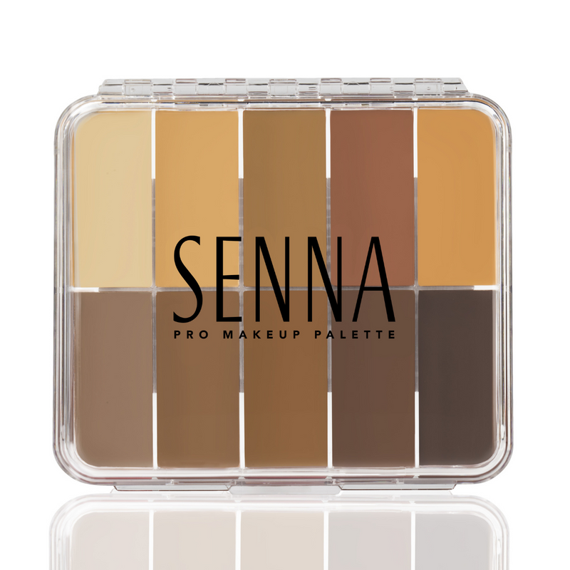 Senna Mini Slipcover Cream to Powder Palette Medium-Dark 2