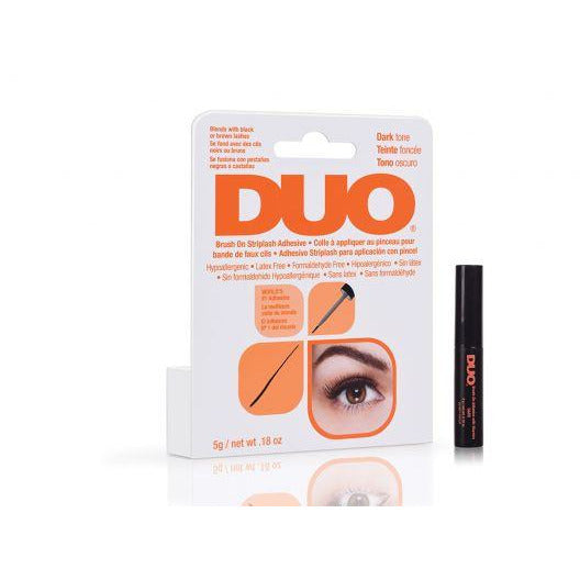 Duo Brush On Striplash Adhesive Dark
