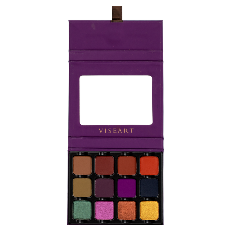 Viseart Eyeshadow Palette Dark Edit
