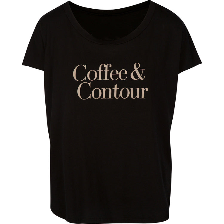 Stilazzi Tee Coffee & Contour Black