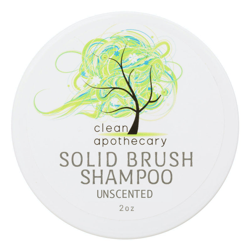 Clean Apothecary Brush Shampoo 2oz