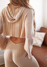 Mala Ribbed Lounge Set