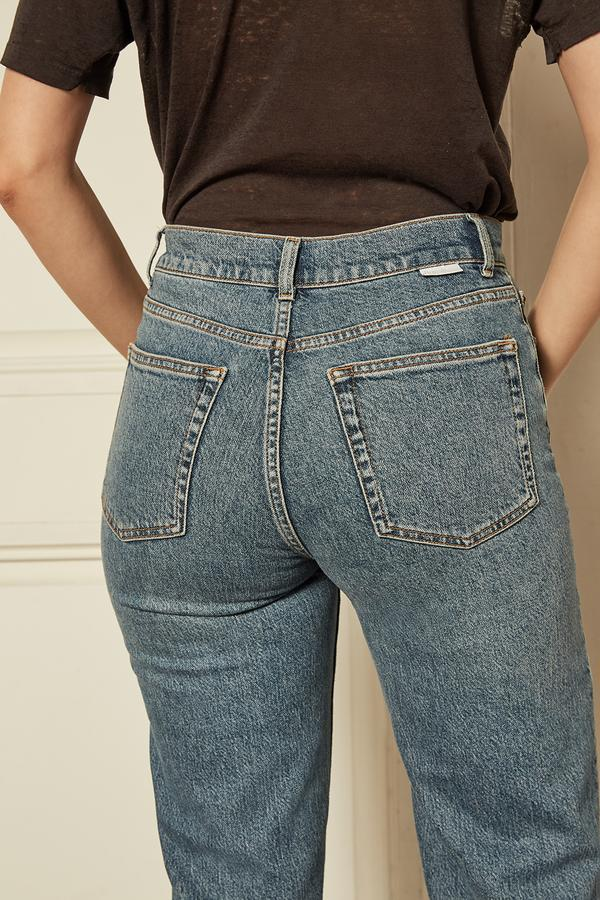 The Mikey High-Rise Wide Leg Jean