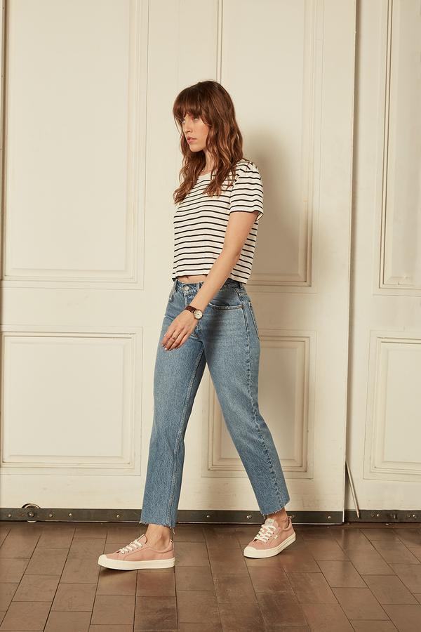 The Tommy High-Rise Straight Leg Jean