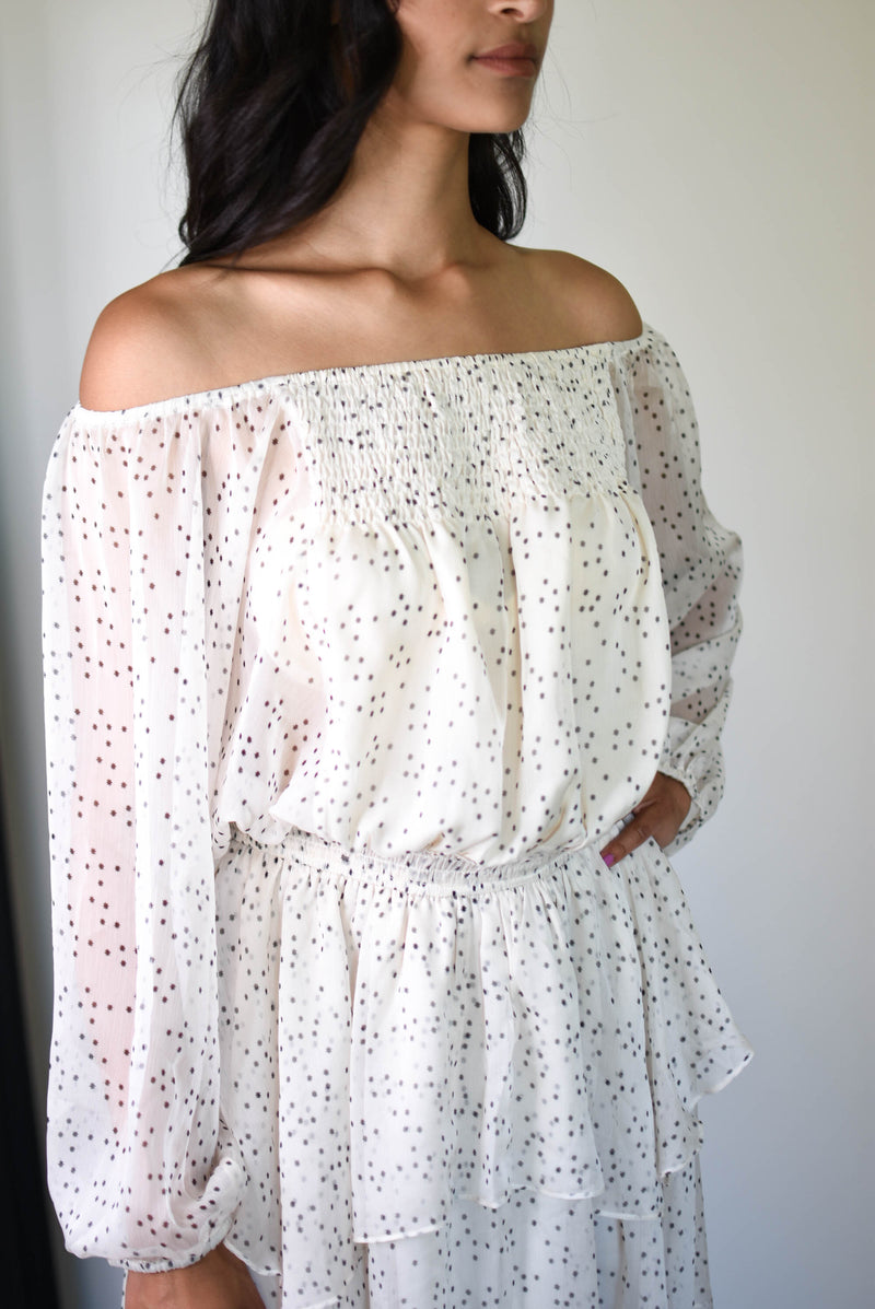 Lucy Off The Shoulder Dress