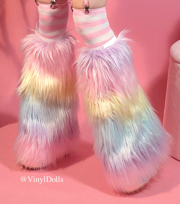 Pastel Rainbow Unicorn Fluffies