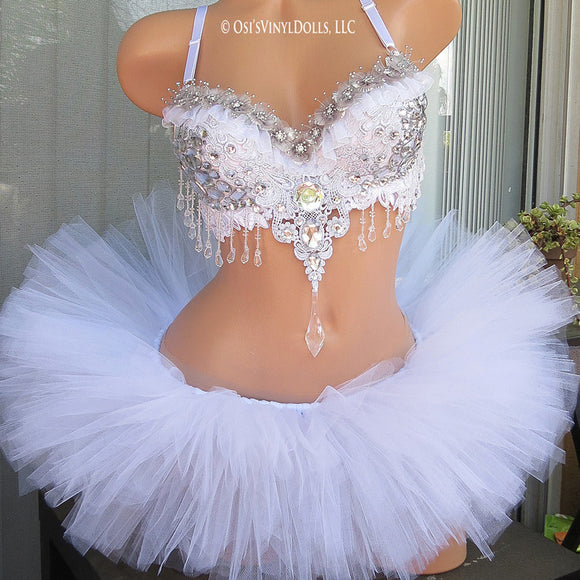 Ice Princess Rave Outfit