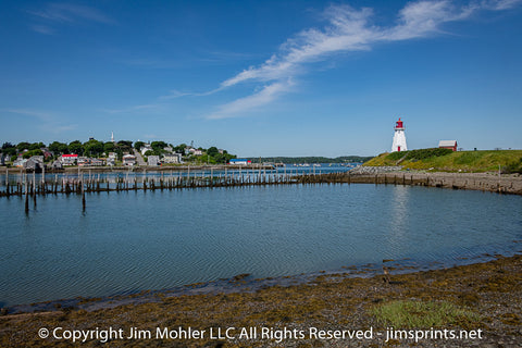 1009 - Mulholland Point Light - New Brunswick, Canada