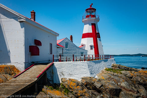 1010 - Head Harbor Light - New Brunswick, Canada