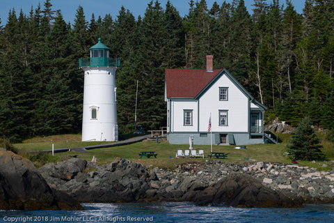 1011 - Little River Lighthouse - Cutler, Maine