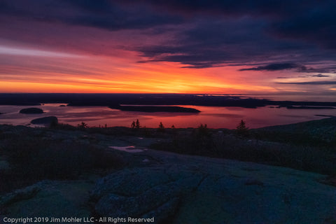 1022 - Cadillac Mountain Sunrise - Acadia National Park