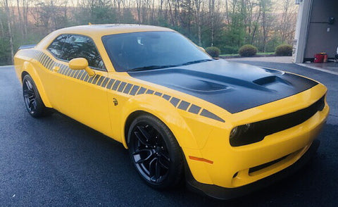 2008+ Dodge Challenger Gen 2 AAR Style Full Upper Strobe Stripes