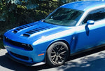 2019+ Dodge Challenger SRT Redeye Hellcat Dual Scoop Hood Top of Scoop Graphics