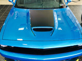 2015+ Dodge Challenger SRT Hellcat Scat Pack RT GT Hood Blackout Graphics