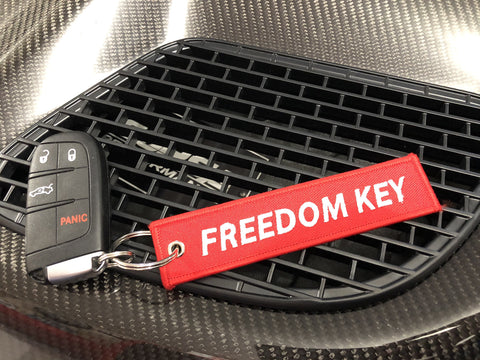 """Freedom Key"" Key Chain"