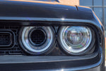 2015-2020 Dodge Challenger Rear Mount Headlight Intake Grille
