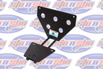 Quick-Release Front License Plate Bracket 2015-2020 Dodge Challenger WITH adaptive cruise (SNS1a)