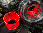 Merrick Motorsports 15-20 Challenger CHASING+RGB LIGHTED AIR INLET TUBES (SOLD IN PAIRS)