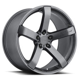 "20"" Gunmetal VP5 MRR Wheels for Challenger / Charger & Magnum"