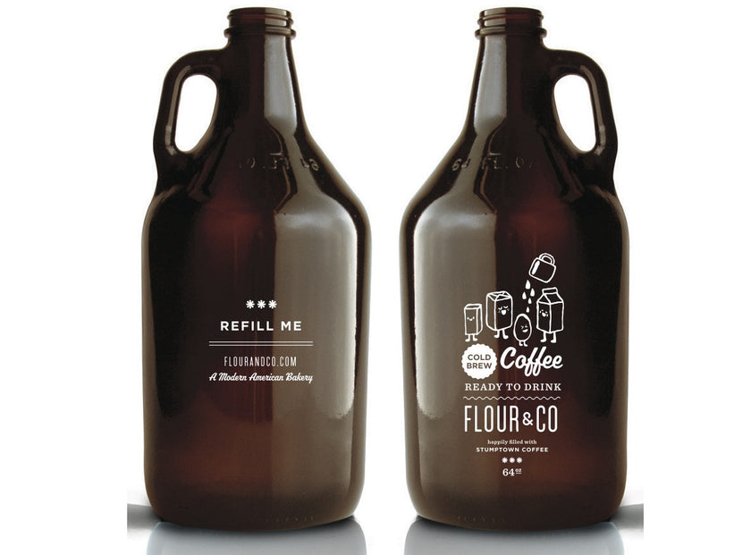 Flour & Co Growler