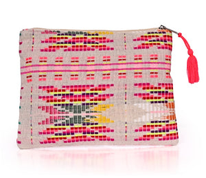 AB Embroidered Clutch Collection