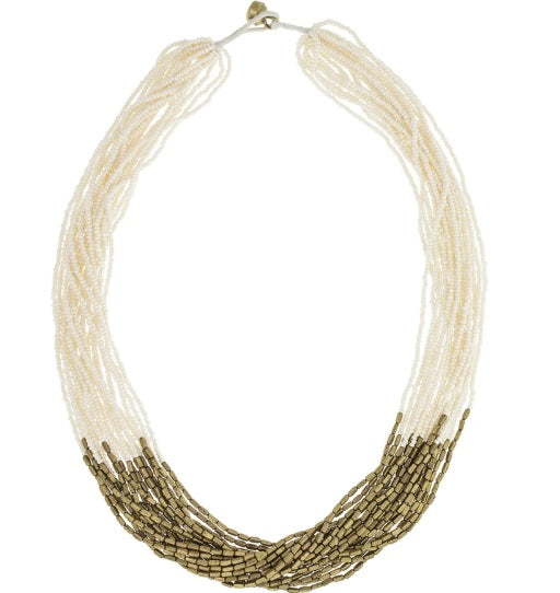 Beaded Hema Necklace
