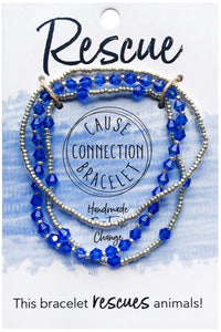 Cause Connection Bracelets: RESCUE