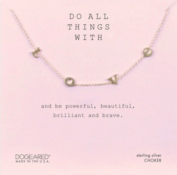 Dogeared Necklaces: Sterling Silver Collection (Multiple Styles)
