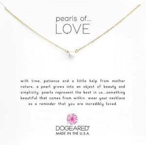 Dogeared Necklaces: Gold Dipped Collection (Multiple Styles)