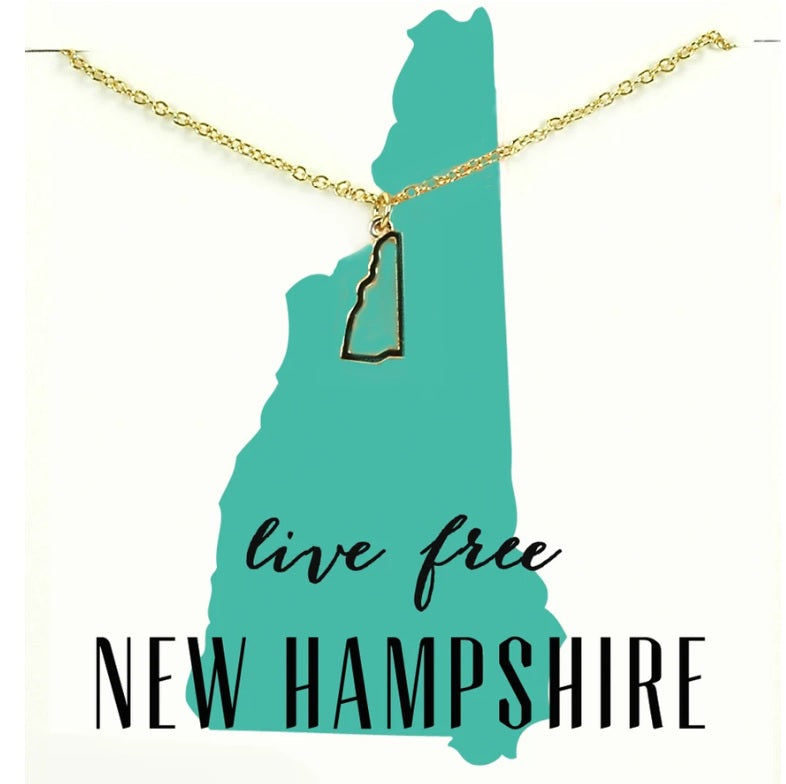 NH State Necklace
