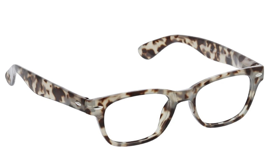 Peepers Blue Light Glasses: Clark in Grey Tortoise