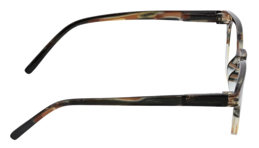 Peepers Blue Light Glasses: Dynomite Tan/Brown