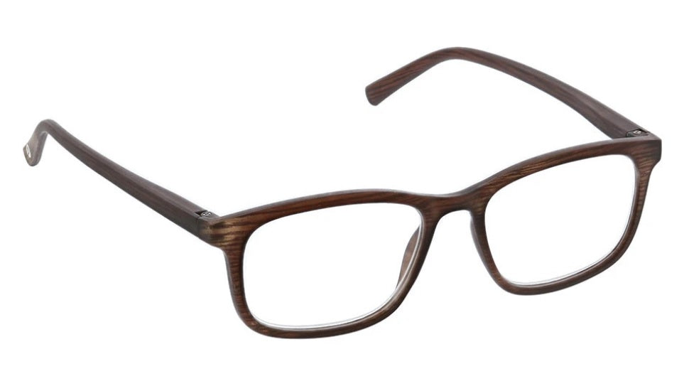 Peepers Blue Light Glasses: Mogul Brown