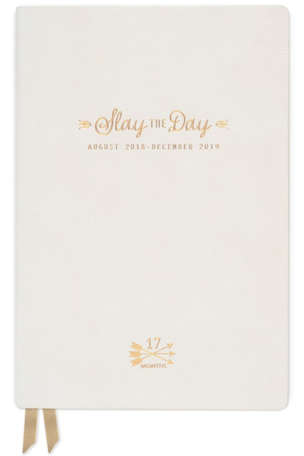 """SLAY THE DAY"" Vegan Leather Agenda"