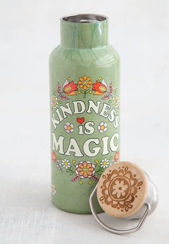 Water Bottle: Kindness is Magic