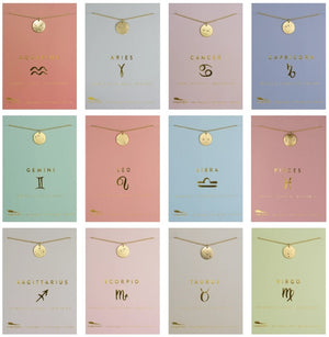 Zodiac Necklace Collection