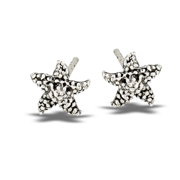Dotted Starfish Stud Earrings: B5