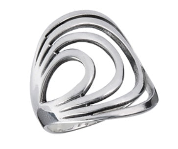 RING 25: The Modern Swirl Ring