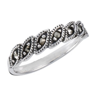 Ring 32: The Dotted Marcasite Ring