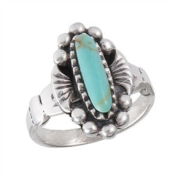 Turquoise Ring: Small