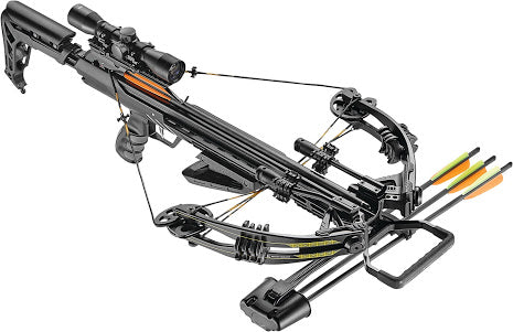 EK Archery Accelerator 370+ Compound Crossbow Black