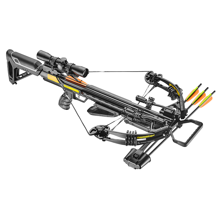 EK Archery Accelerator 390+ Crossbow Black
